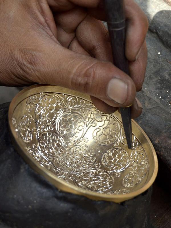 Nghệ thuật điêu khắc đồ đồng Ấn Độ a