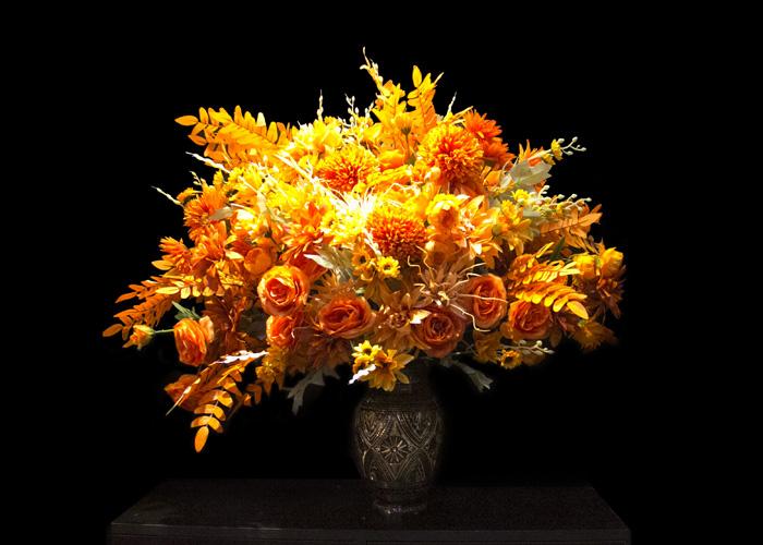 Lọ hoa bằng đồng thủ công Ấn Độ